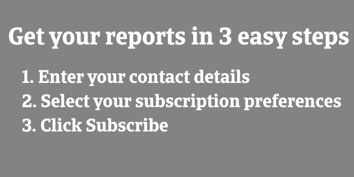 Subscriptions Free in 3 easy steps GREY